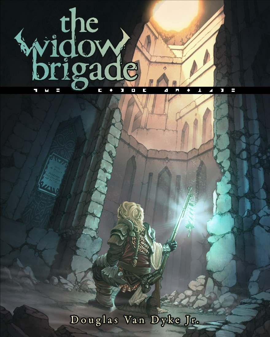 """The Widow Brigade"" Audiobook Hits 100 Sold!"
